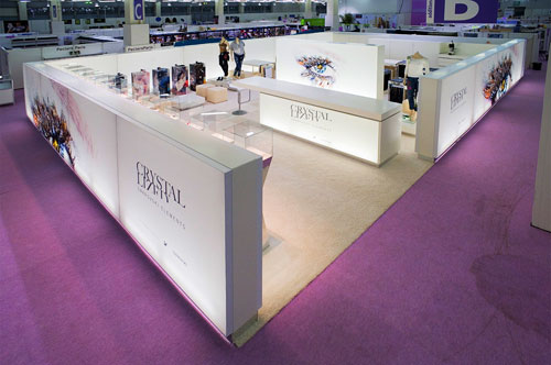 Backlit Panels ideal for Exhibitions