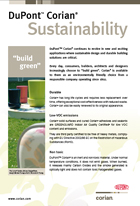 Corian Sustainability in the environment