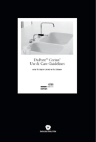Corian Use and Care Guidelines
